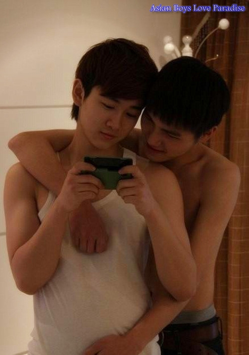 Gay asian twink couples bareback action 5
